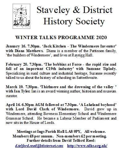 Staveley & District History Society